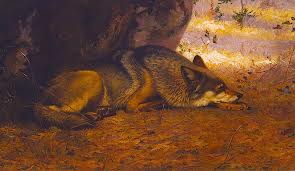 """The Sleeping Wolf""  Ernest Thompson Seton"