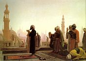 Prayer in Cairo, Egypt by Jean Leon Gerome, 1865