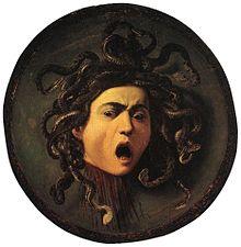 Medusa by Carvaggio 1595